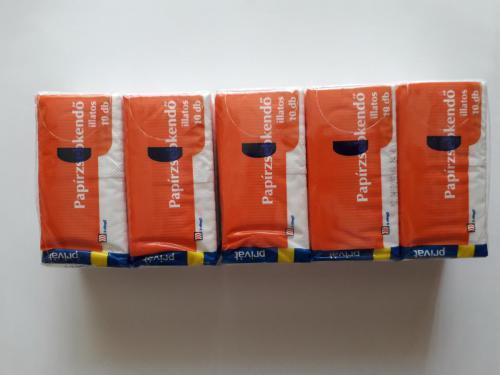 Papírzsebkendő 10 l illatos PRIVÁT conv (2)