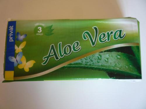 Papírzsebkendő PRIVÁT Aloe Vera