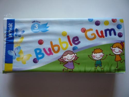 Papírzsebkendő PRIVÁT Bubble Gum