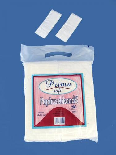 Papírzsebkendő Prima 200 l